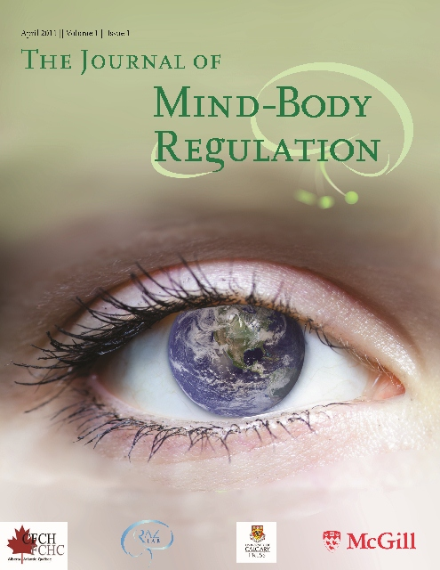 The Journal of Mind Body Regulation cover